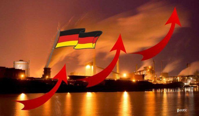 Almanya'da Fabrika Siparişleri Temmuz'da Bir Önceki Aya Göre %2,8 Arttı
