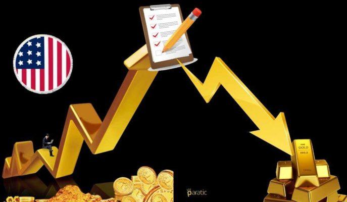 Altın ABD'den Gelen Güçlü Verilerle İvme Kaybederek %0,5'e Yakın Geriledi