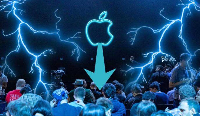 Apple'ın Zirveden Düşüşü, Piyasa Değerinden 500 Milyar Dolar Sildi