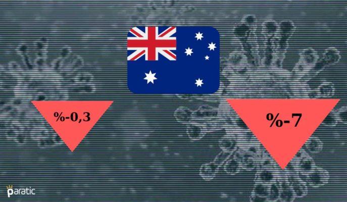 Avustralya GSYİH'si Rekor Daralırken Ülke Resesyona Girdi