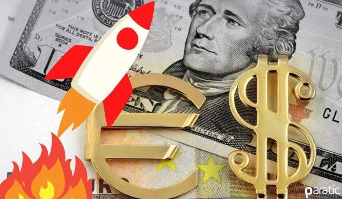 Dolar 7,69 Rekorunu Kırarken, Euro 9 TL Üzerinde Tutunmaya Çalışıyor
