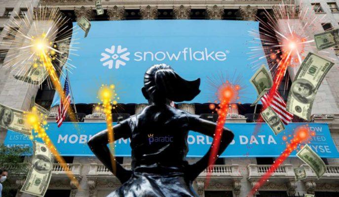 En Büyük Yazılım Halka Arzı Olan Snowflake %111 Artış Gösterdi