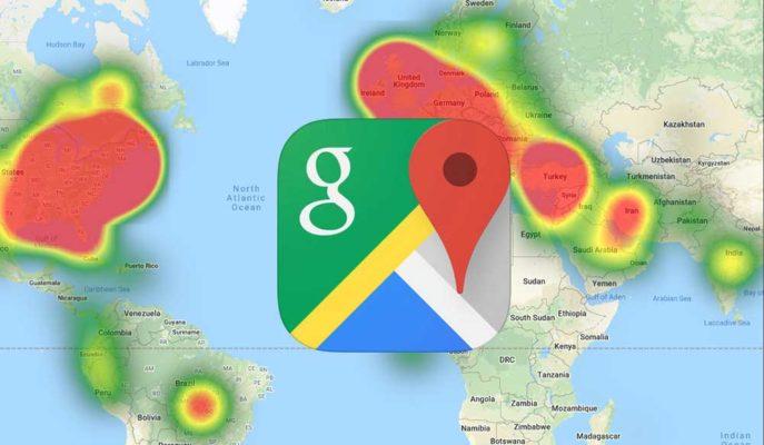 Google Haritalar Koronavirüs Riskinin Olduğu Bölgelere Karşı Kullanıcıları Uyaracak