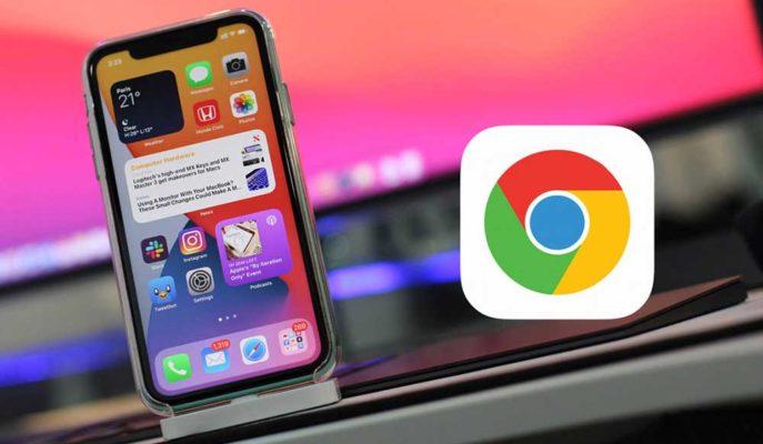 Google iOS 14 Kullanıcılarına Seslendi: Chrome'u Tercih Edin!