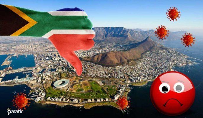 Güney Afrika Ekonomisi Tahminlerin Aksine %7'den Daha Fazla Küçülecek