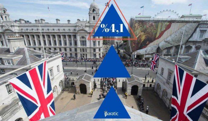 İngiltere'de İşsizlik Oranı Temmuz'da %3,9'dan %4,1'e Yükseldi