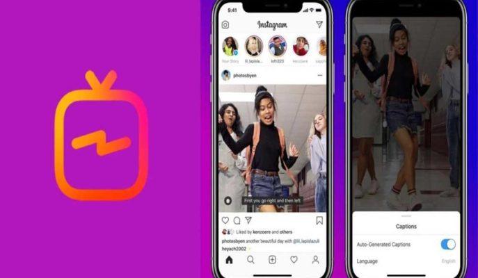 Instagram, IGTV Platformu için Otomatik Oluşturulan Altyazı Desteği Sunuyor