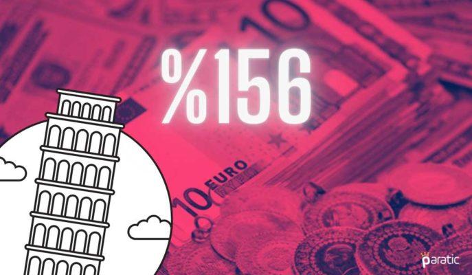 İtalya Borcunun 2021'de GSYİH'nin %156'sına Ulaşması Bekleniyor