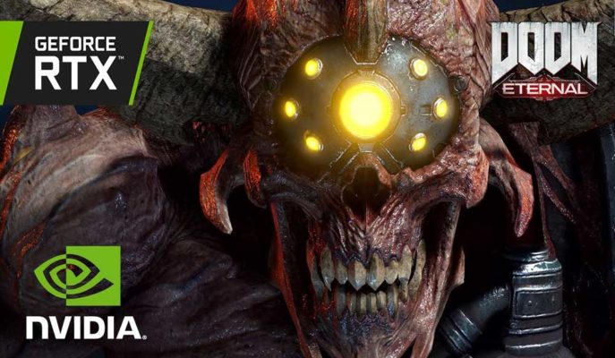 Nvidia GeForce RTX 3080, 4K Performansı ile Doom Eternal'de Kendisini Gösterdi