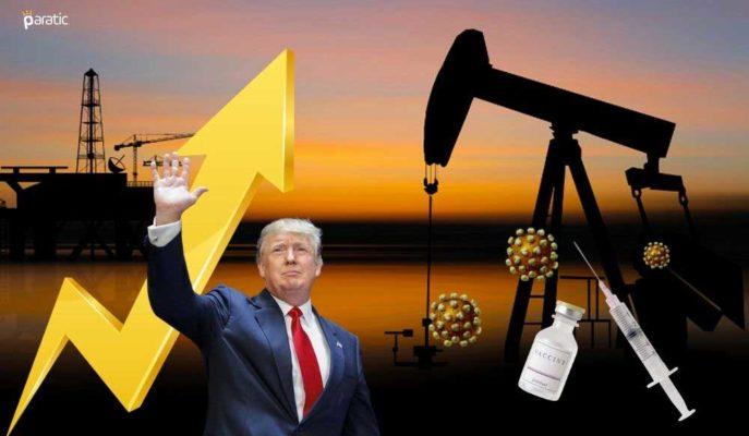 Petrol Fiyatları Trump'ın Aşı Açıklamasıyla %2'ye Yakın Yükseldi