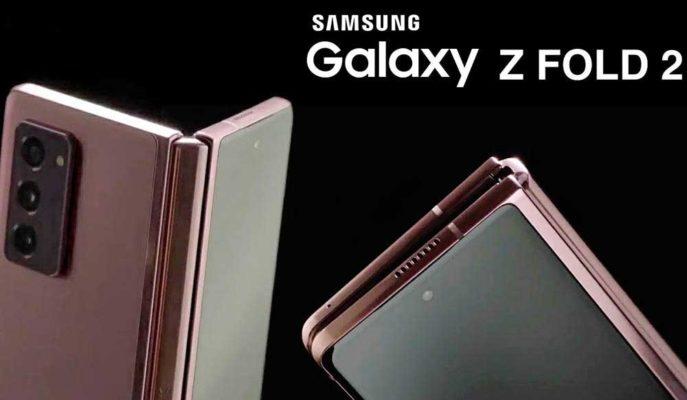 Samsung, Galaxy Z Fold 2'nin Koronavirüs Sonrası Dönem için En Uygun Telefon Olduğunu Belirtiyor