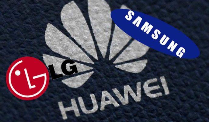 Samsung ve LG, Huawei'ye Ekran ve Bellek Tedariğini Kesmeye Hazırlanıyor