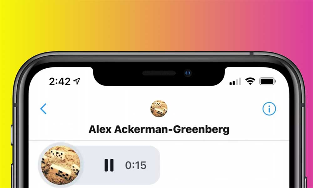 Audio mesajlar