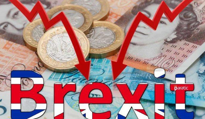 Sterlin Anlaşmasız Brexit Endişesiyle Majör Para Birimleri Karşısında Zayıfladı