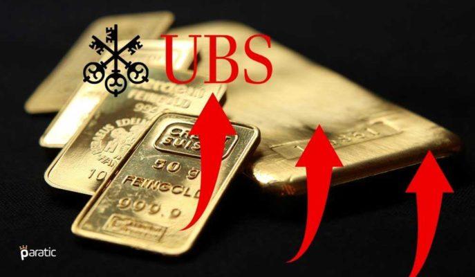 UBS: Küresel Belirsizlik Altını Tahminlerden Daha Uzun Süre Yüksek Tutacak