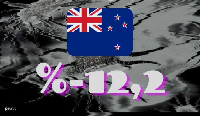 Yeni Zelanda %12,2'lik GSYİH Düşüşüyle Resmen Resesyonda