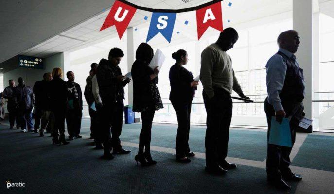 ABD'de Haftalık İşsizlik Maaşı Başvuruları 55 Bin Azaldı