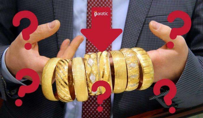 ABD Teşvik Anlaşmasında Belirsizliğin Artması Altın Fiyatlarını Düşürdü