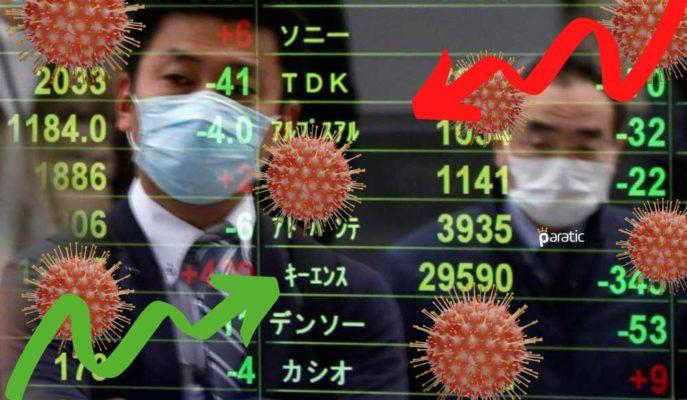Asya Borsaları Avrupa'da Yükselen Koronavirüs Vakalarıyla Karışık Seyretti