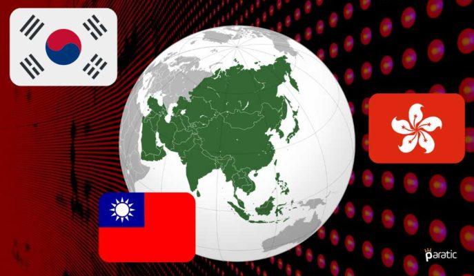 Asya Gündemindeki Yoğunluğa Hong Kong, Kore ve Tayvan GSYİH'leri de Eklenecek