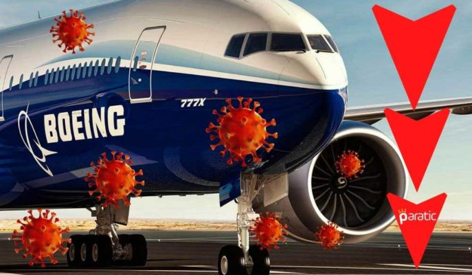 Boeing'in Geliri 3Ç20'de Covid-19 Pandemisi Etkisiyle %29 Azaldı