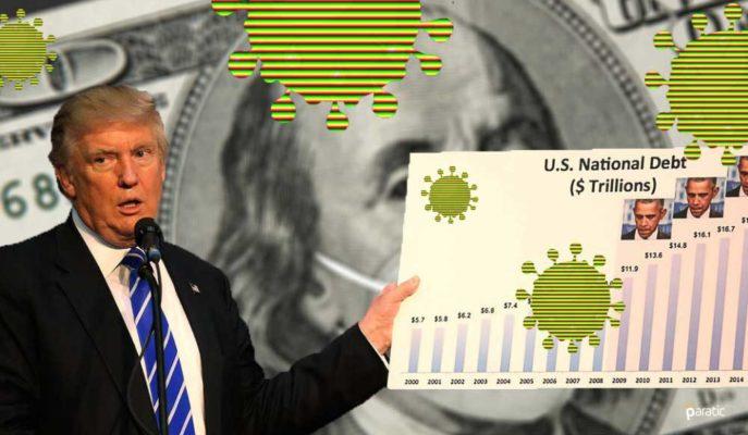 CBO: ABD'nin Bütçe Açığı Muhtemelen 3,1 Trilyon Dolara Ulaştı