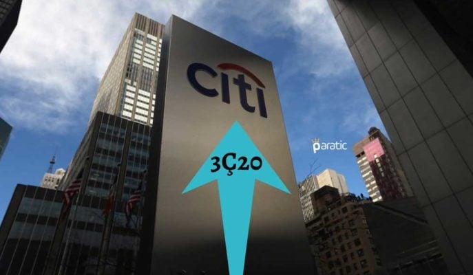 Citigroup Beklenenden Daha İyi 3Ç20 Kazancı Bildirirken Hisseleri Yükseldi