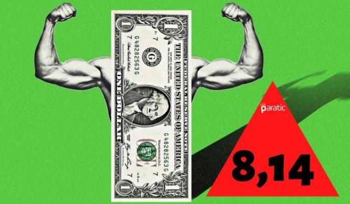 Dolar Kuru 8,14'ü Aşarak Tüm Zamanların En Yükseğini Gördü