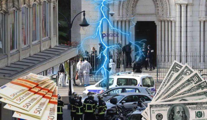 Fransa'daki Terör Saldırılarının Ardından Dolar ve Euro Rekora Yakın Seyrediyor