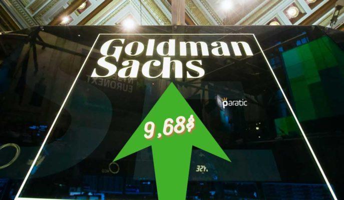 Goldman Sachs 3Ç20'de 9,68 Dolarlık Hisse Başına Kazanç Açıkladı