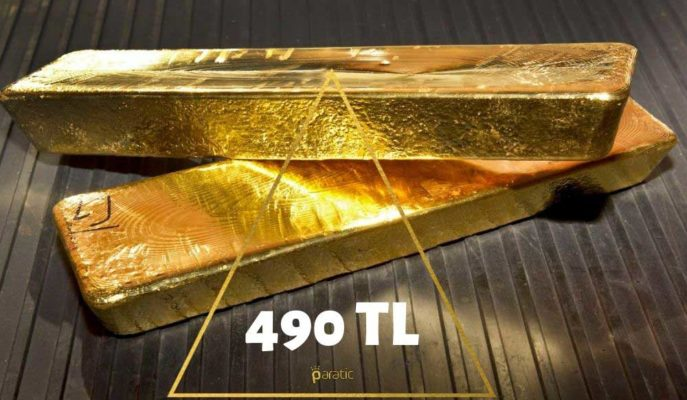 Gram Altın 490 TL ile Zirveyi Tazelerken, Ons Türü Hafif Ekside