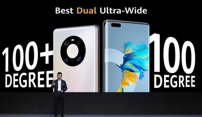 Huawei CEO'su Mate 40'ı iPhone 12 ile Kıyaslayarak Anlattı
