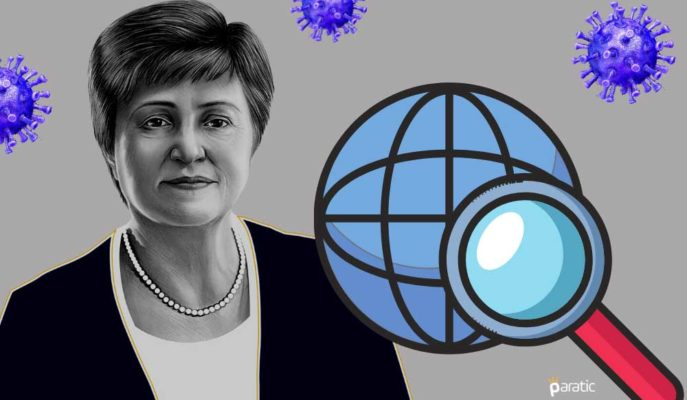 IMF Başkanı: Küresel Ekonomik Görünüm Haziran'a Kıyasla Daha Az Vahim