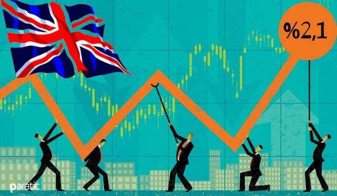 İngiltere'de GSYİH Ağustos'ta %2,1 Büyüse de Pandemi Öncesinin %9,2 Altında