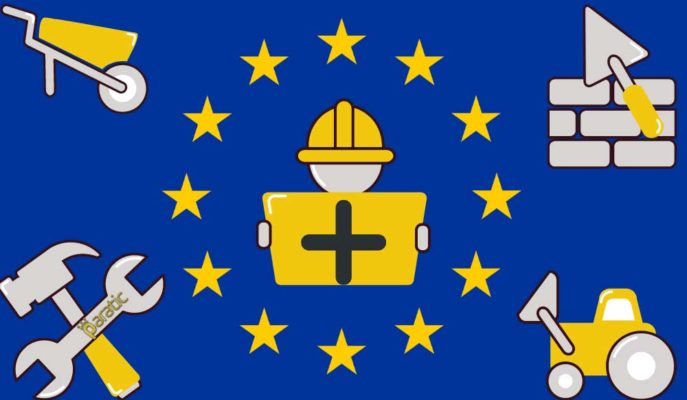 İnşaat Üretimi Ağustos'ta Hem Euro Bölgesi Hem AB'de Arttı