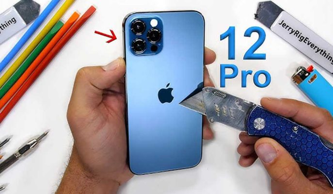 iPhone 12 Pro En Kapsamlı Dayanıklılık Testinden Alnının Akı ile Çıktı