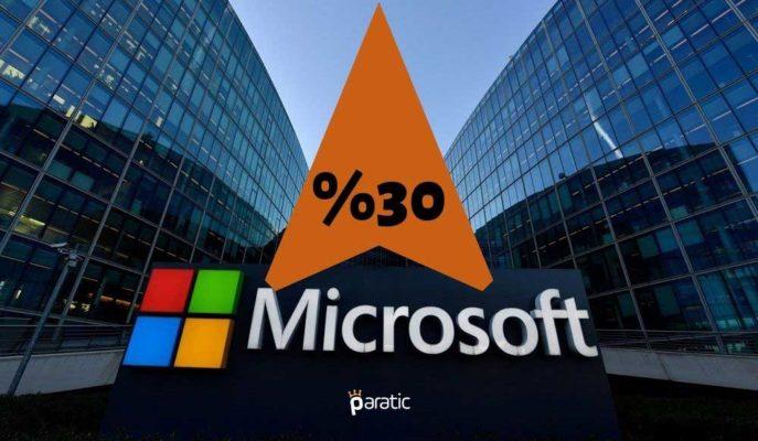 Pandemi Nedeniyle Uzaktan Çalışma Microsoft'a Yaradı, Net Karı %30 Arttı