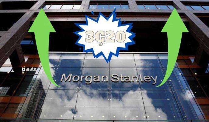 Morgan Stanley 3Ç20 Kârı Bir Yıl Öncesine Göre %25 Arttı