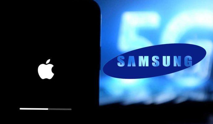 Samsung, iPhone 12 Serisinin 5G Desteğine Ağır Göndermede Bulundu