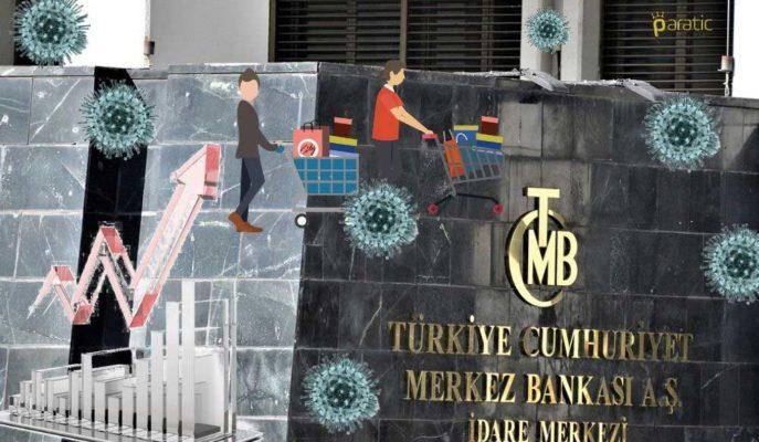 TCMB: Pandemiye Bağlı Enflasyonist Etkiler Sürdüğünden Sıkılaşmanın Güçlendirilmesi Gerekiyor