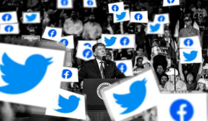 Trump'ın Koronavirüs Paylaşımı Yine Facebook ve Twitter Tarafından Engellendi