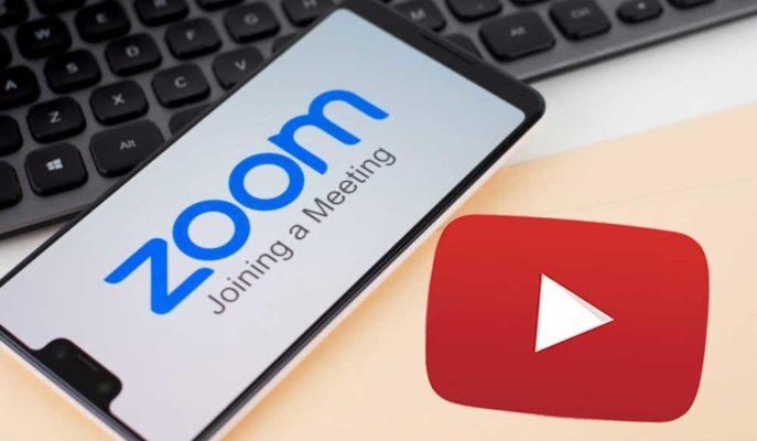 Zoom'da Konferanslar YouTube Üzerinden Canlı Olarak Paylaşılabilecek