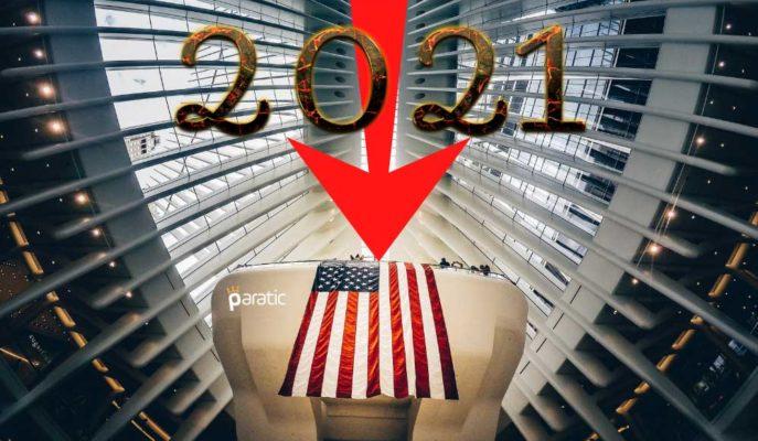 ABD Büyüme ve Borsa Kazanımları 2021'de Gölgede Kalacak