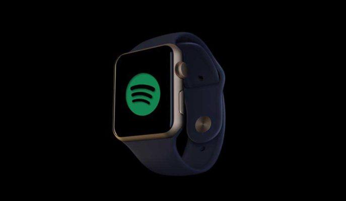 Apple Watch, iPhone Harici Spotify Desteğine Kavuşuyor
