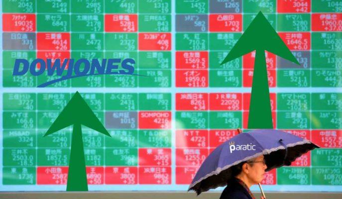 Asya-Pasifik Hisseleri, ABD'li Dow'un Rekoruyla Yükselişe Geçti