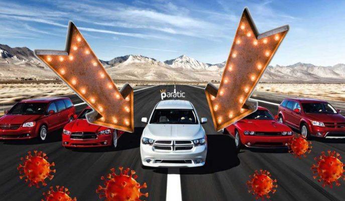 Salgında İkinci Dalga Avrupa'da Otomobil Satışlarını %7,1 Düşürdü