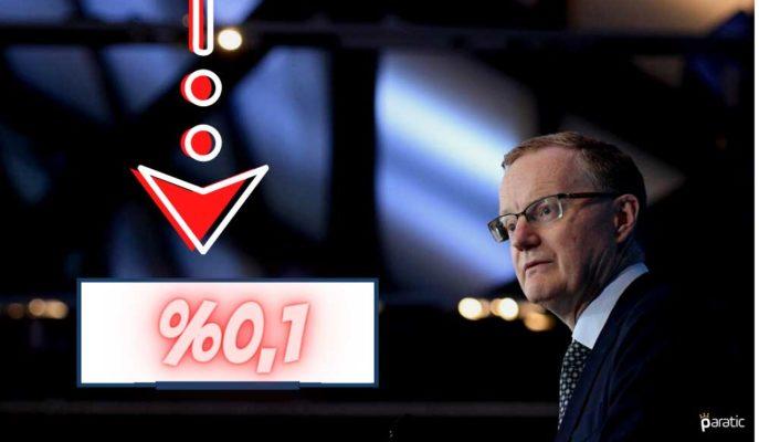 Avustralya MB Ekonomiyi Desteklemek için Faizi %0,1'lik Tarihi Düşük Seviyeye İndirdi