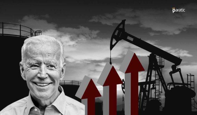 Biden'ın Ekonomiyi Kapatmayacağını Söylemesi Petrol Fiyatlarını Destekledi