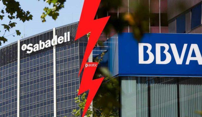 Birleşme Görüşmelerinin İptaliyle BBVA Hisseleri Yükseldi, Sabadell'inki Çakıldı