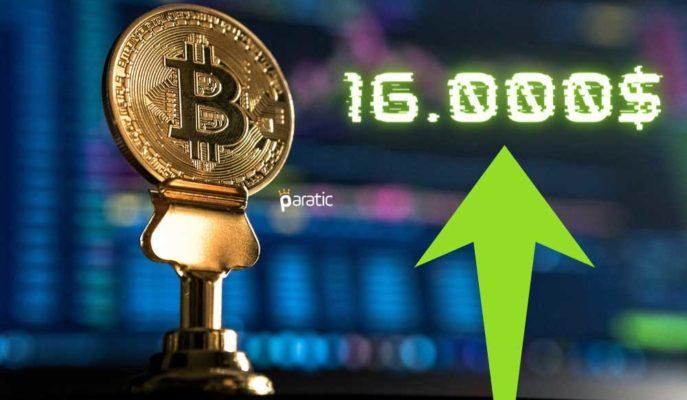 Bitcoin, Yaklaşık 3 Yılın Ardından İlk Kez 16.000 Doları Gördü